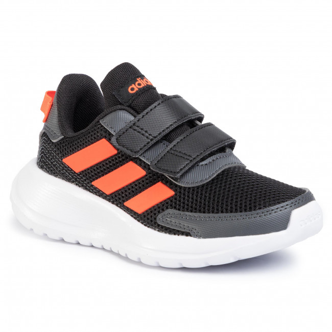 Topánky adidas - Tensaur Run C EG4143  Cblack/Solred/Gresix
