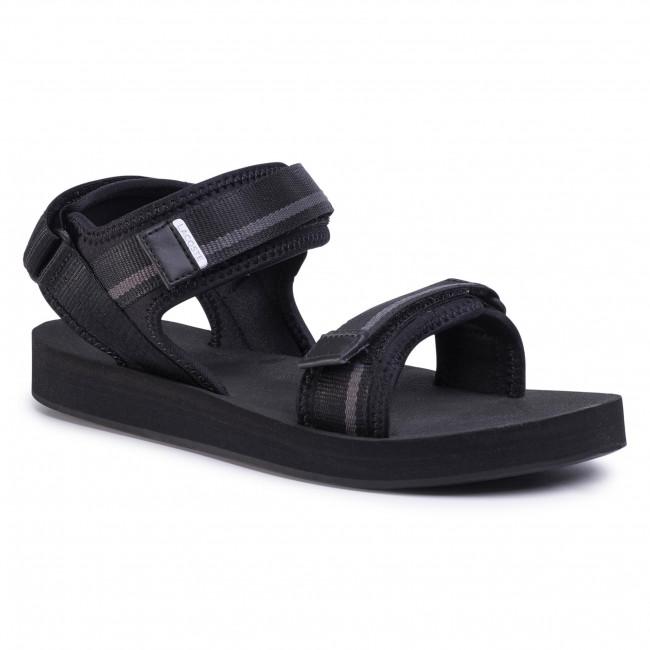 Sandále LACOSTE - Suruga 120 1 Cma 7-39CMA0038237 Blk/Dk Grey
