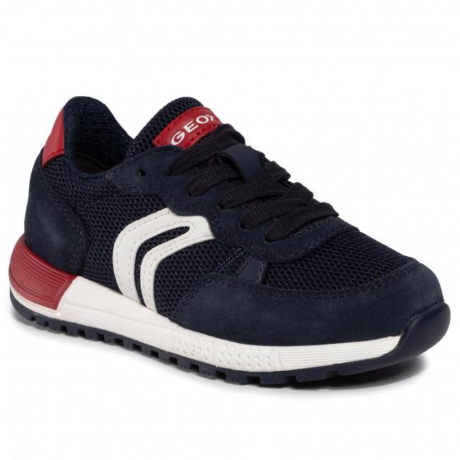 Sneakersy GEOX - J Alben B. D J949ED 01422 C0735 M Navy/Red