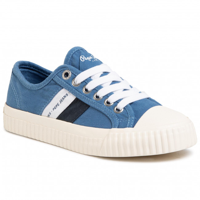 Tramky PEPE JEANS - Malibu Junior PBS30427 Regal Blue 552