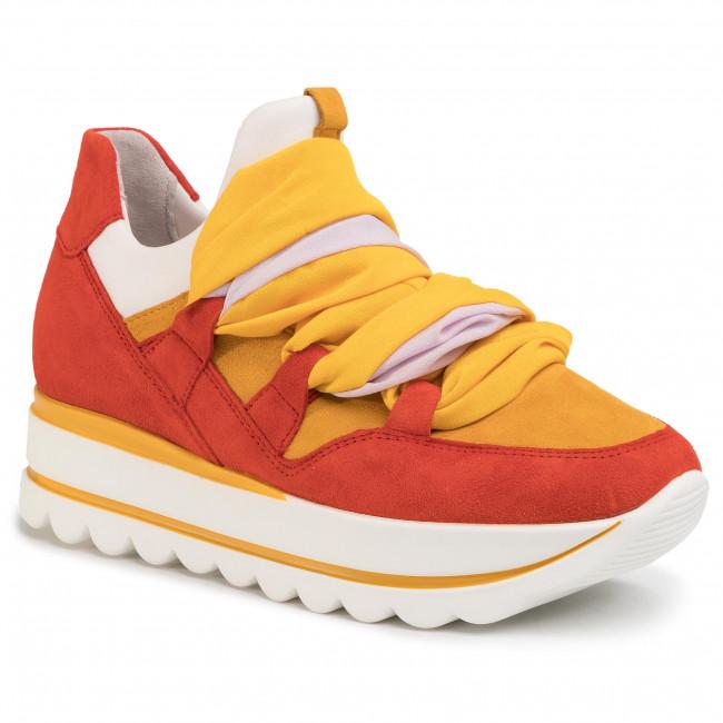 Sneakersy GABOR - 43.411.10 Koralle/Weis/Multi