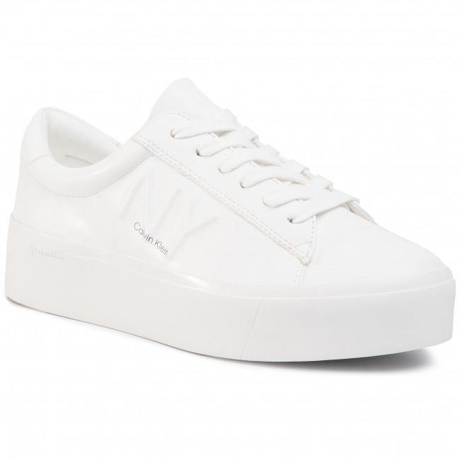 Sneakersy CALVIN KLEIN - Jamella B4E00036 White