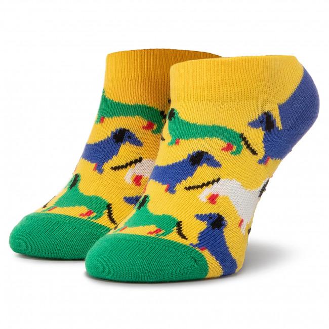 Ponožky Kotníkové Detské HAPPY SOCKS - KHOU02-2000  Farebná Žltá