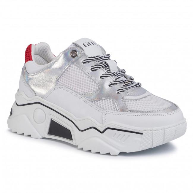 Sneakersy GOE - FF2N3007 White/Silver