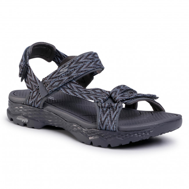 Sandále SKECHERS - Go Walk Outdoors 14644/CHAR Charcoal