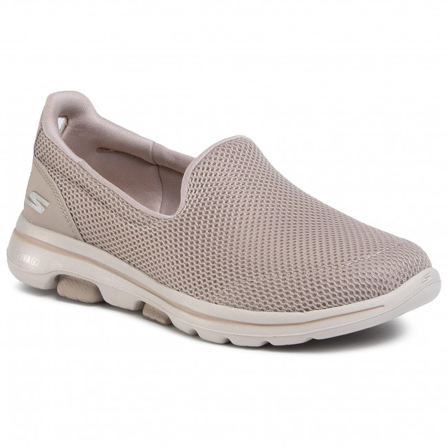 Poltopánky SKECHERS - Go Walk 5 15901/TPE Taupe