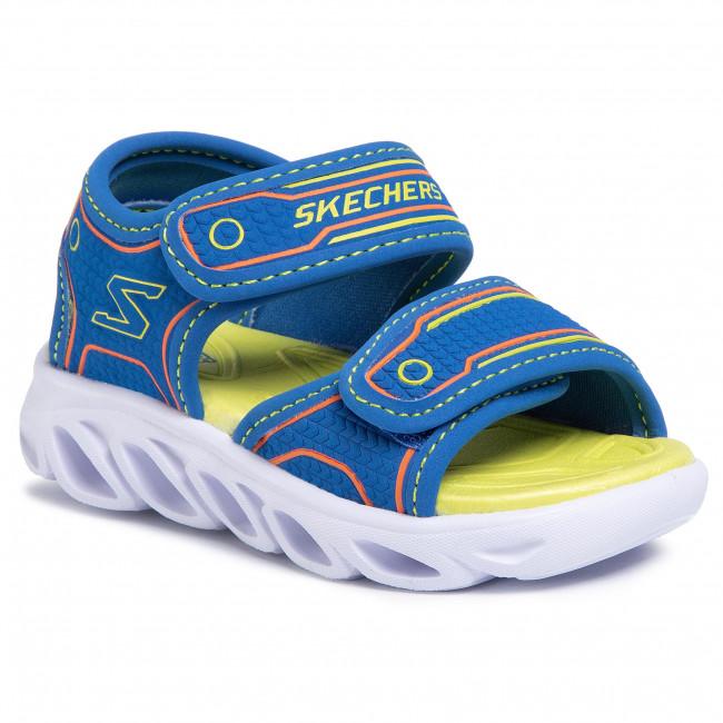 Sandále SKECHERS - Hypno-Splash 90522N/BLLM Blue/Lime