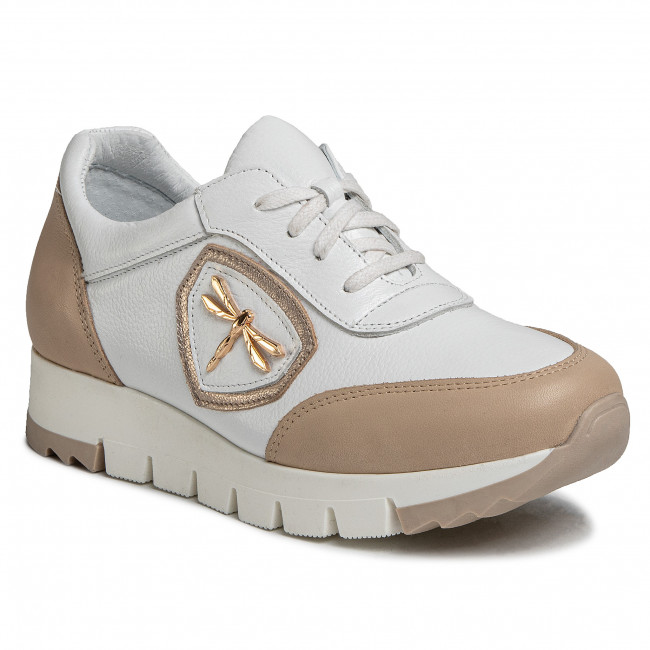 Sneakersy EKSBUT - 29-5852-378/H65-1G Biela
