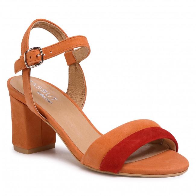 Sandále EKSBUT - 3B-5908-M58/180-1G Pomarańcz