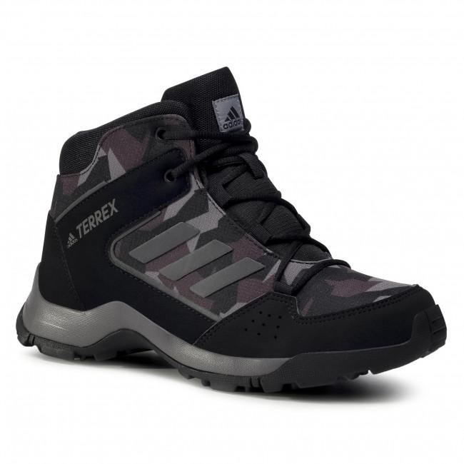 Topánky adidas - Terrex Hyperhiker K FW0382  Cblack/Ntgrey/Cblack