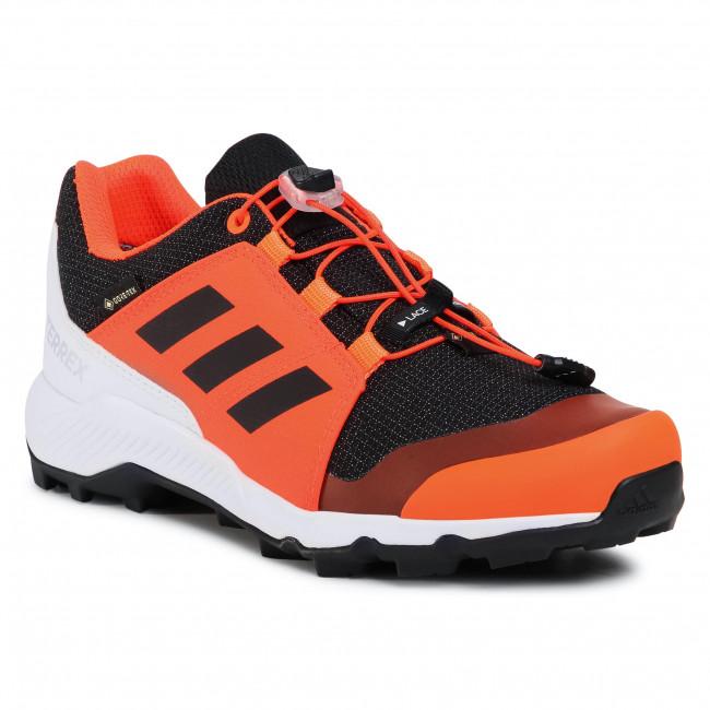 Topánky adidas - Terrex Gtx K GORE-TEX FW9759 Oranžová