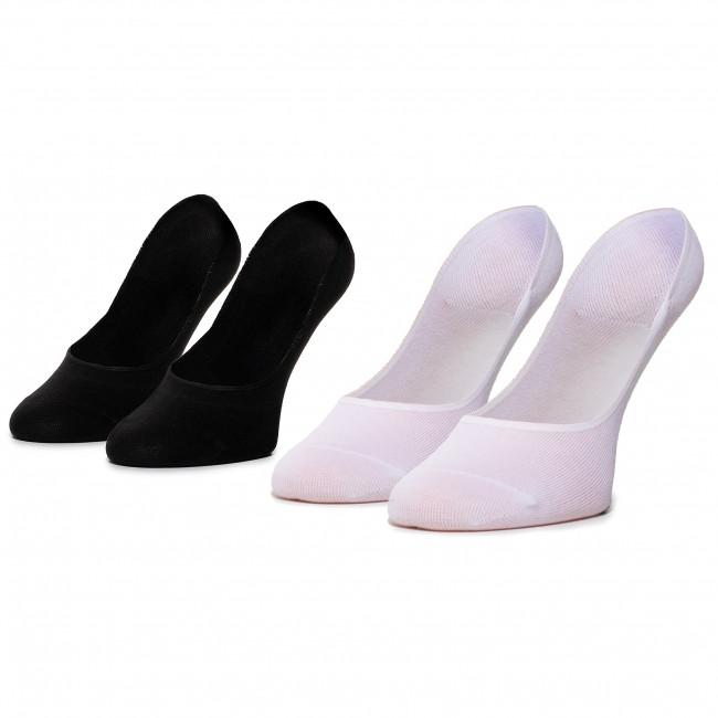 Súprava 2 párov krátkych ponožiek unisex adidas - N Patrn 2Pp L S CV4386 Black/White