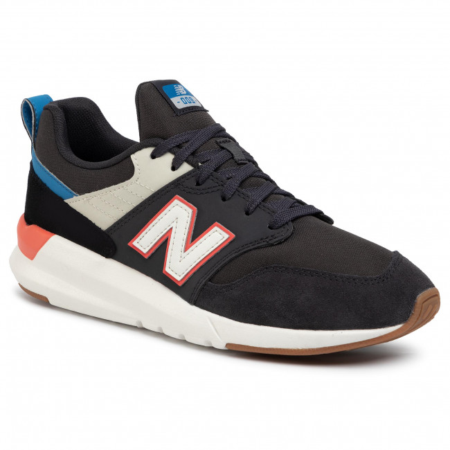 Sneakersy NEW BALANCE - MS009RD1 Čierna Sivá