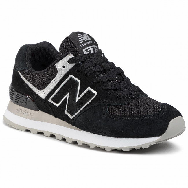 Sneakersy NEW BALANCE - WL574EZ Čierna