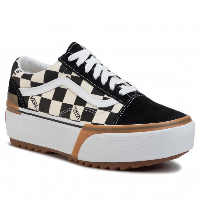 Tenisky VANS - Old Skool Stacked VN0A4U15VLV1 (Checkerboard) Multi/True