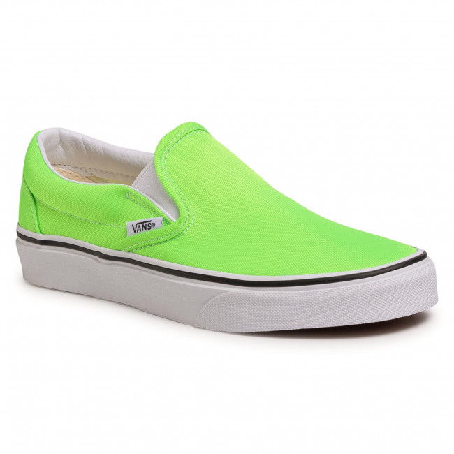 Tenisky VANS - Classic Slip-On VN0A4U38WT51 (Neon)Green Gecko/Tr Wht