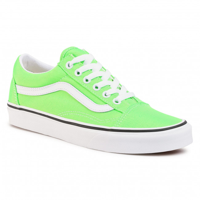 Tenisky VANS - Old Skool VN0A4U3BWT51 (Neon) Green Gecko/Tr Wht