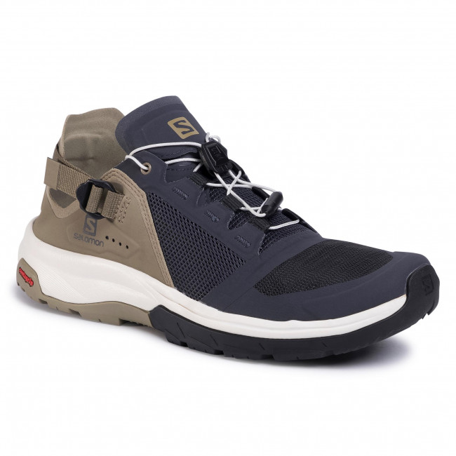 Trekingová obuv SALOMON - Tech Amphib 4 409135 27 V0 Ebony/Mermaid/Vanilla Ice