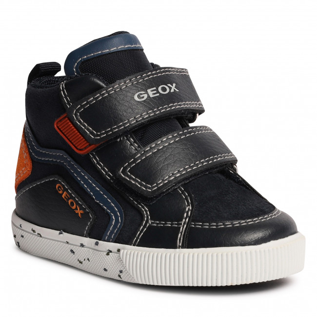 Sneakersy GEOX - B Kilwi B. C B04A7C 022BU C0820 M Navy/Orange