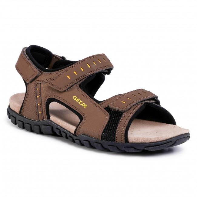 Sandále GEOX - U Sand. Mito A U02Q2A 000CE C6005 Chocolate