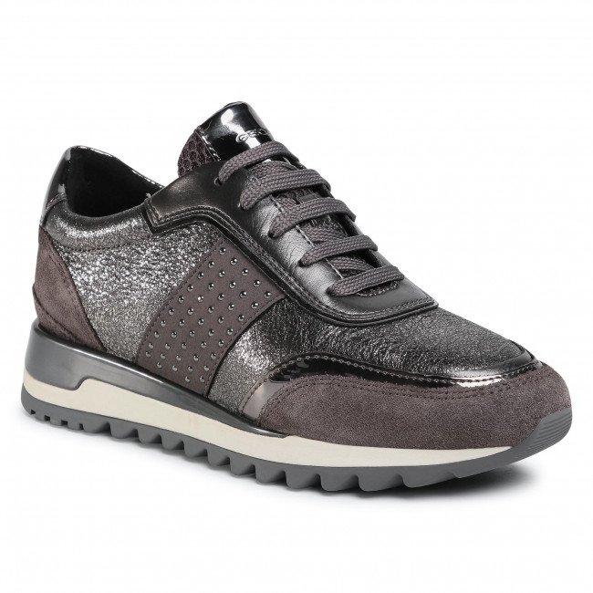 Sneakersy GEOX - D Tabelya A D94AQA 022CF C9F1G Dk Grey/Gun