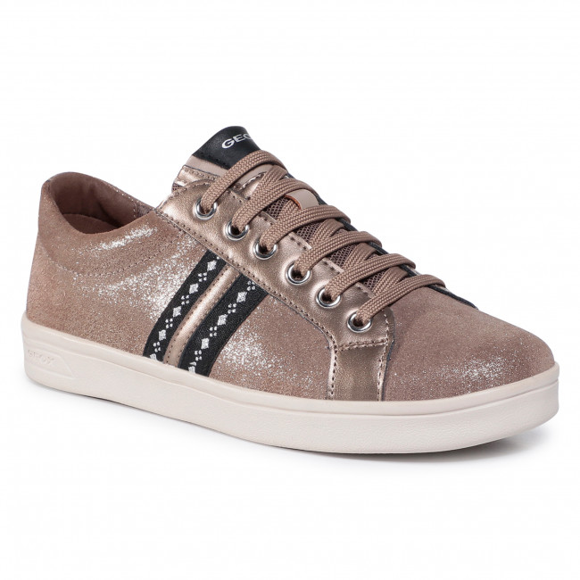 Sneakersy GEOX - J Djrock G. H J024MH 077AJ C2005 D Gold