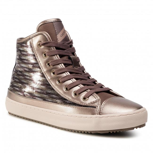 Sneakersy GEOX - J Kalispera G.D J044GD 0ATAJ C9003 D Lead