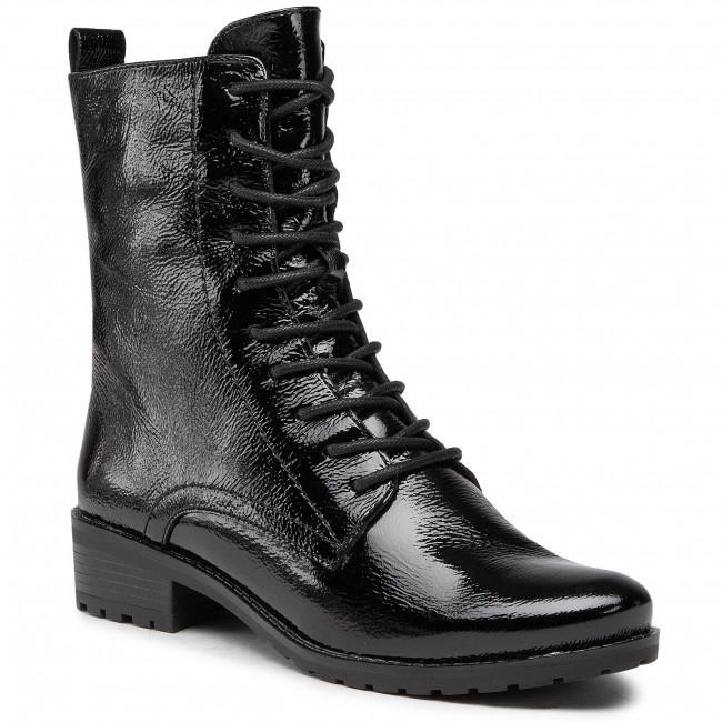 Outdoorová obuv CAPRICE - 9-25101-25 Black Naplak 017