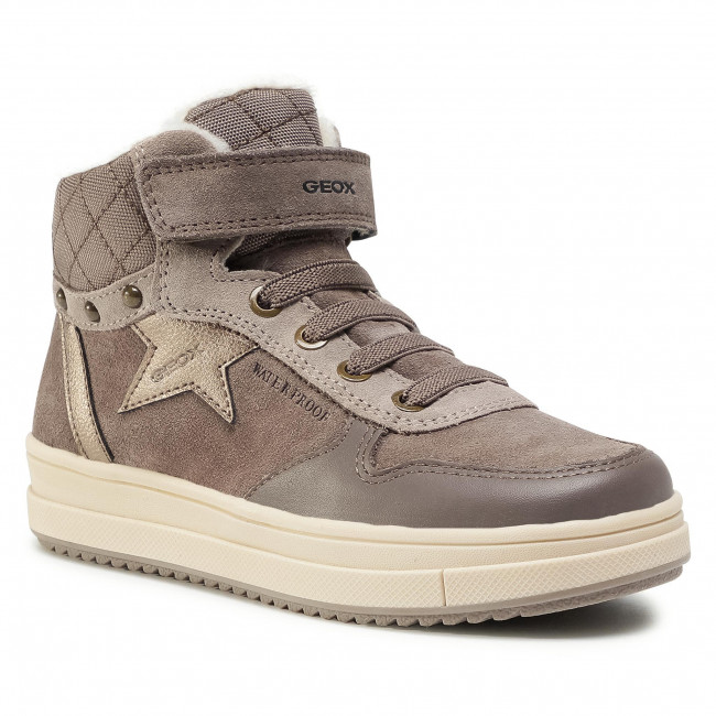 Sneakersy GEOX - J Rebecca G.Wpf B J04CVB 022FU C9006 S Smoke Grey
