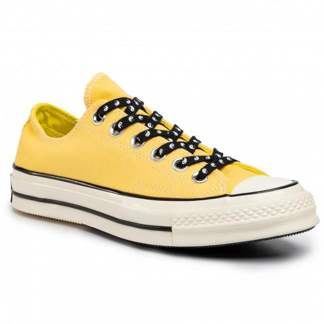 Tramky CONVERSE - Chuck 70 Ox Butter 164214C  Butter Yellow/Fres