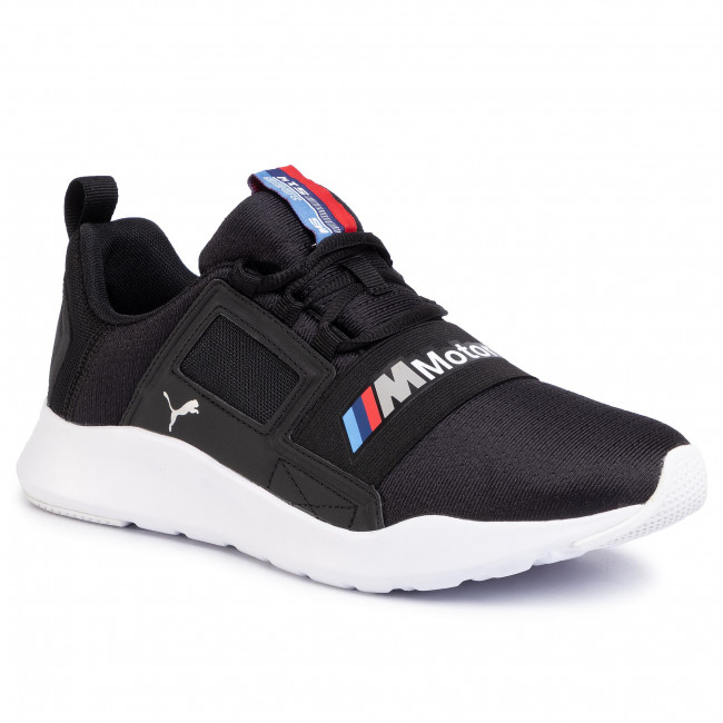 Sneakersy PUMA - Bmw Mms Wired Cage 306504 01 P Black/P Black/P White