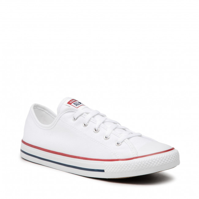 Tramky CONVERSE - Ctas Dainty Ox 564981C White/Red/Blue