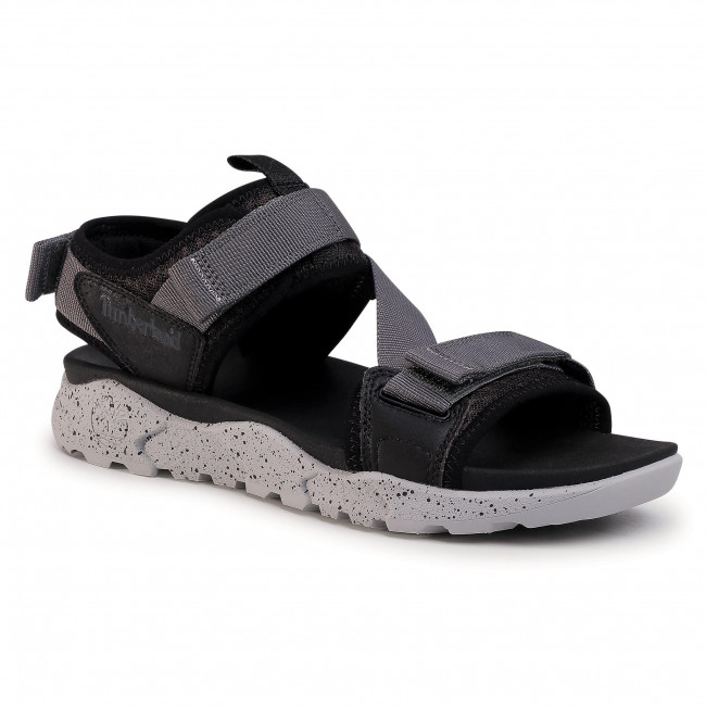 Sandále TIMBERLAND - Ripcord Backstrap TB0A23KS0151 Black Mesh W Grey
