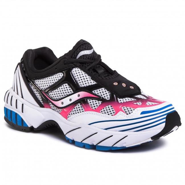 Sneakersy SAUCONY - Grid Web S70466-4 Wht/Pnk/Blu