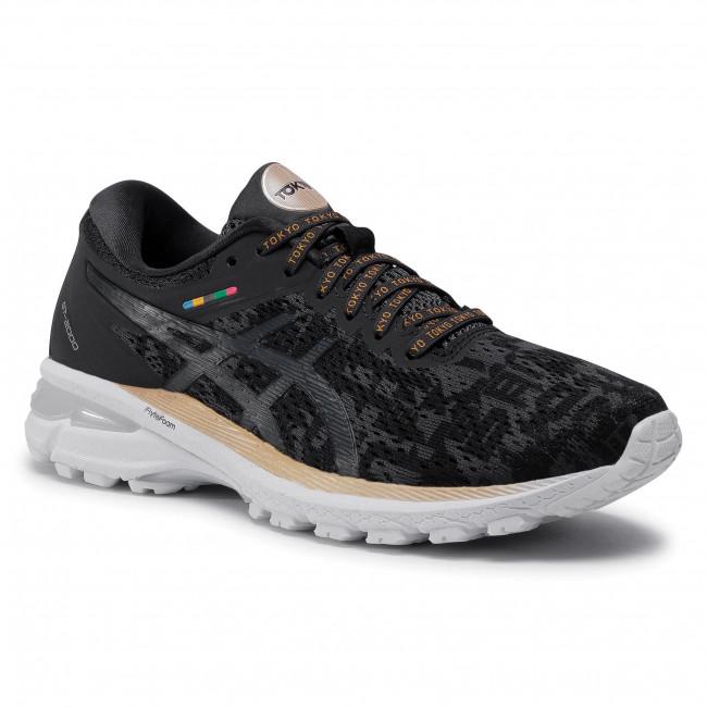 Topánky ASICS - Gt-2000 8 1012A940  Black/Graphite Grey 001