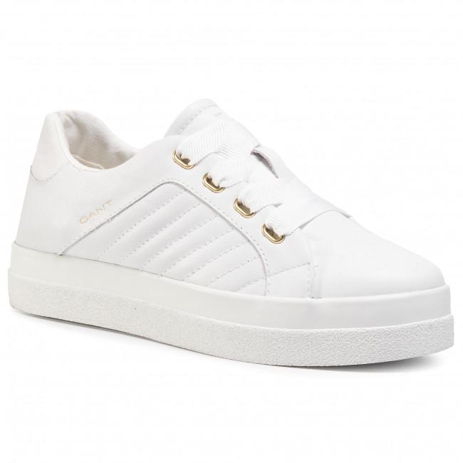 Sneakersy GANT - Avona 21531884 Bright White G290