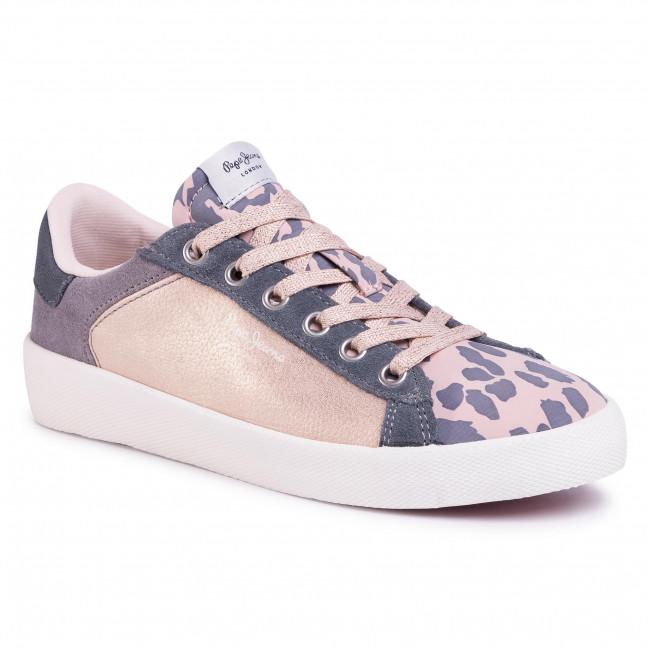Sneakersy PEPE JEANS - Kioto Kenia PLS30957 Petal 312