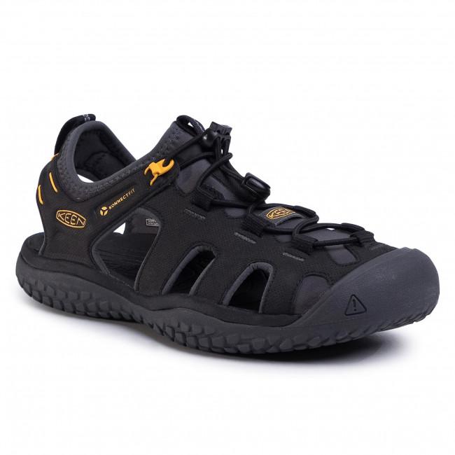 Sandále KEEN - Solar Sandal 1022246 Black/Gold
