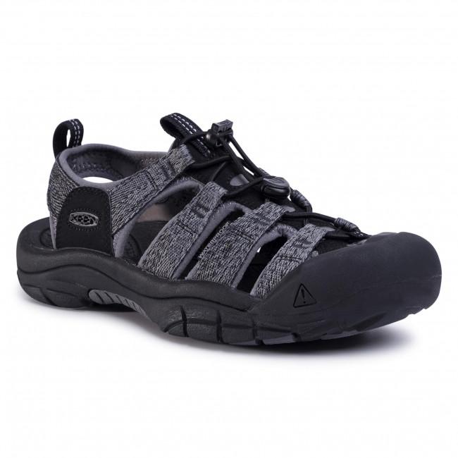 Sandále KEEN - Newport H2 1022252 Black/Steel Grey