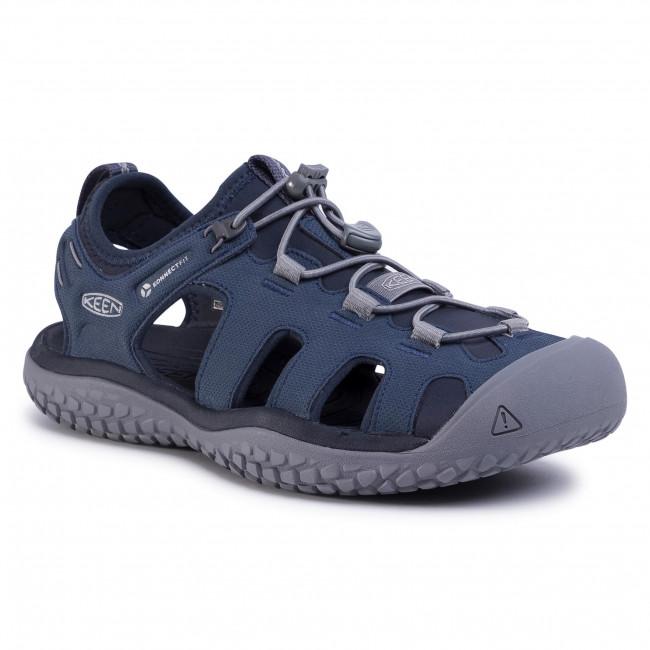 Sandále KEEN - Solr Sandal 1022431 Navy/Steel Grey
