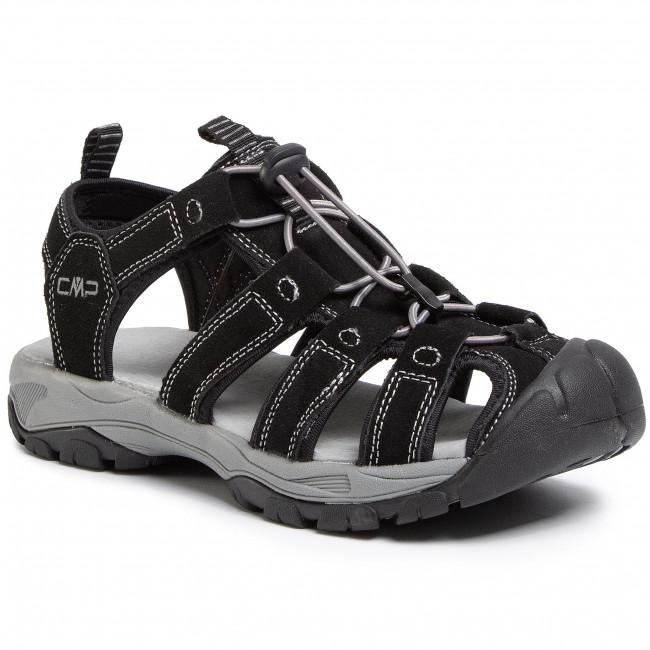 Sandále CMP - Sahiph Leather Hiking Sandal 30Q9507 Nero U901