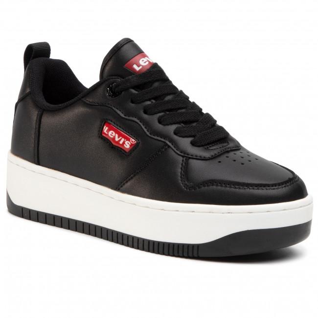 Sneakersy LEVI'S - VQUE0011S  Black 0003