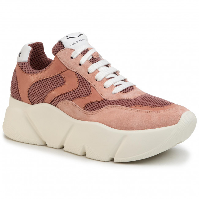 Sneakersy VOILE BLANCHE - Monster 0012013532.06.0M02 Rosa
