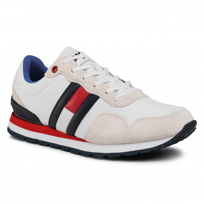 Sneakersy TOMMY JEANS - Lifestyle Sneaker EM0EM00492 Rwb 0K9