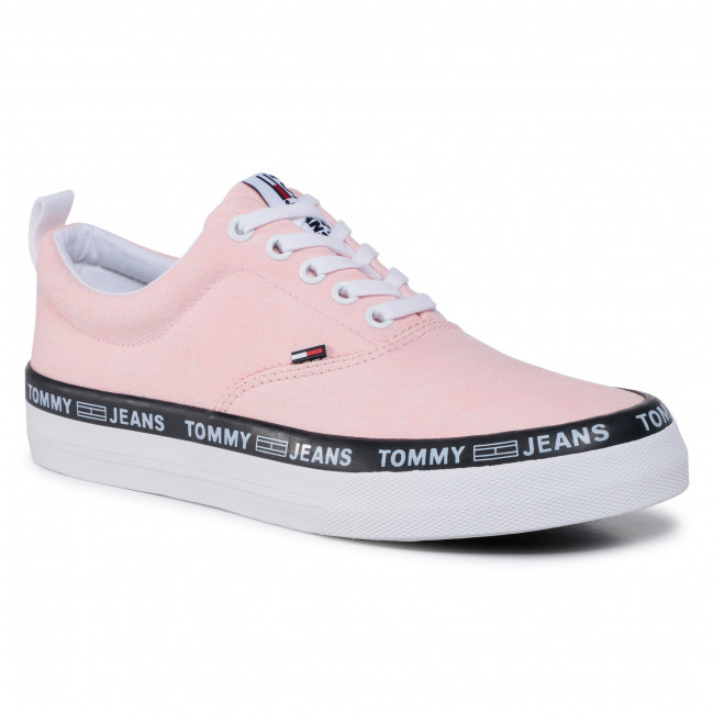 Tenisky TOMMY JEANS - Classic Lace Up Sneaker  EM0EM00493 Calm Pink TG5