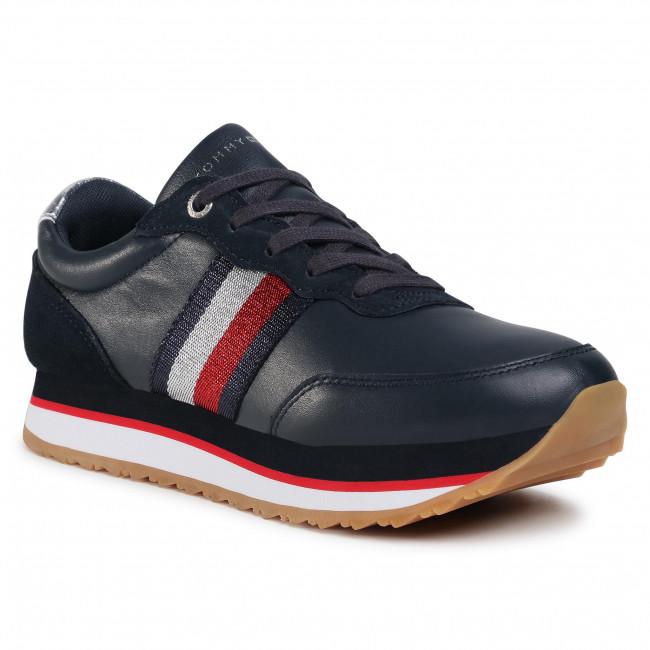 Sneakersy TOMMY HILFIGER - Tommy Tape Sneaker FW0FW04997 Desert Sky DW5
