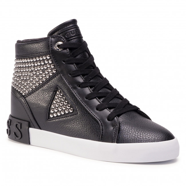 Sneakersy GUESS - Petur FL7PER ELE12 BLACK