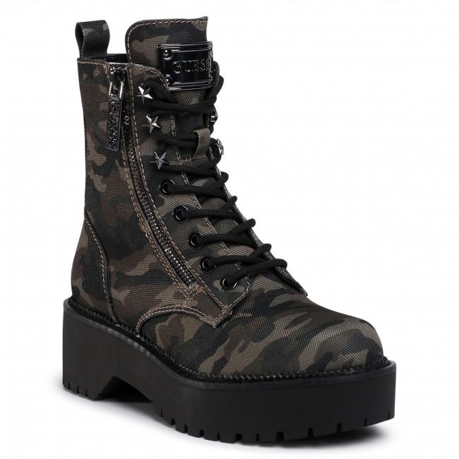 Outdoorová obuv GUESS - Tayte FL7TAE FAP10 CAMO