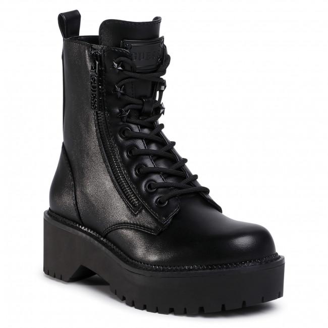Outdoorová obuv GUESS - Tayte2 FL7TY2 ELE10  BLACK