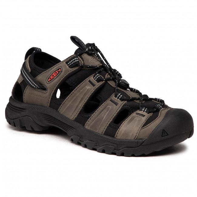 Sandále KEEN - Targhee III Sandal 1022428 Grey/Black